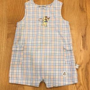 Winnie The Pooh & Ru Plaid Jumper Size 6 Months